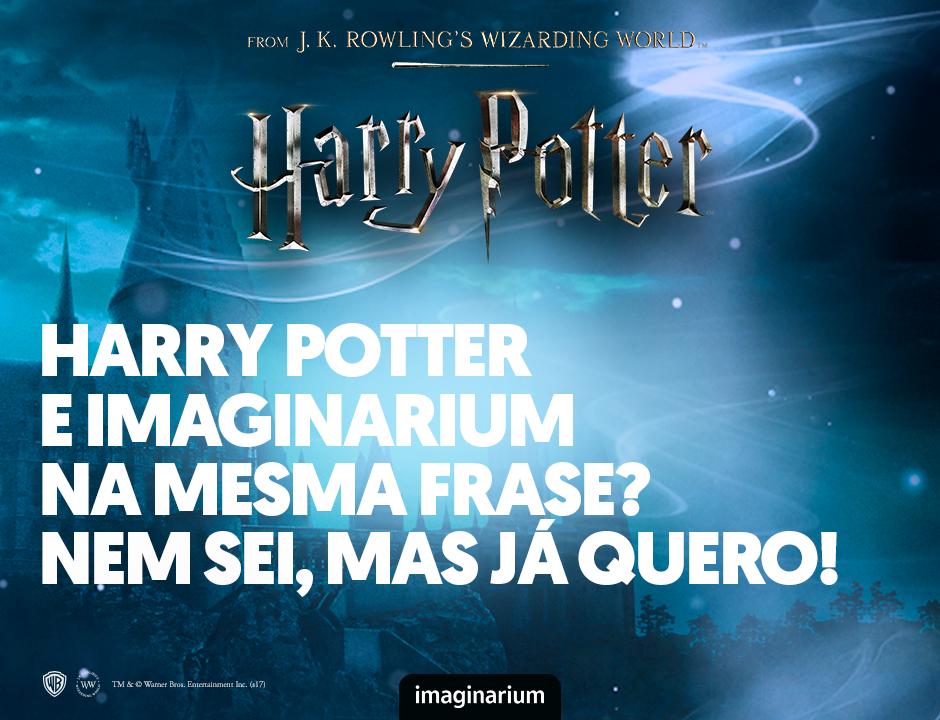Coleção Harry Potter Imaginarium 2017
