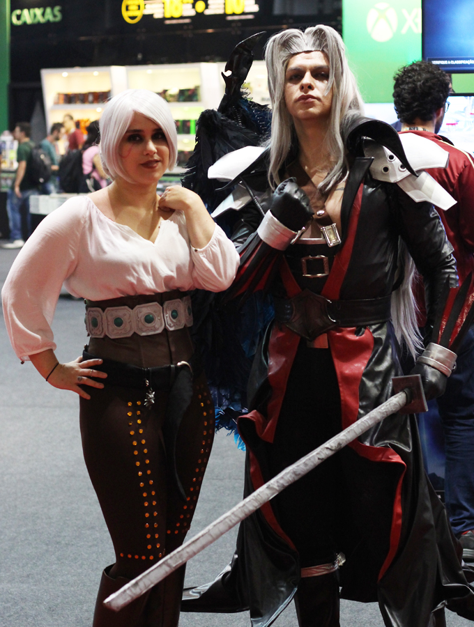 BGS Brasil Game Show Cosplay