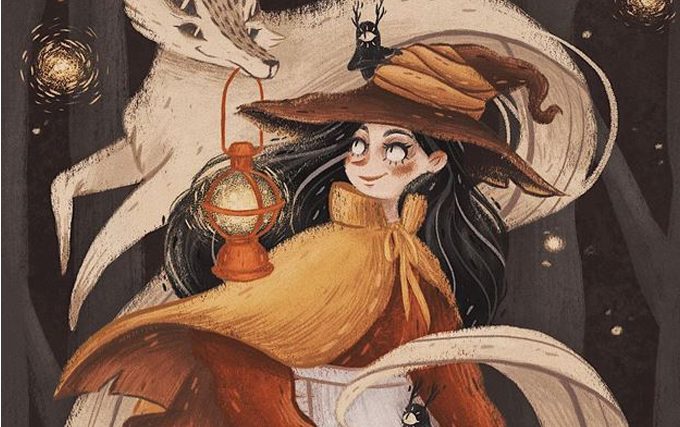 Especial Halloween Bruxinhas de Mori Raito