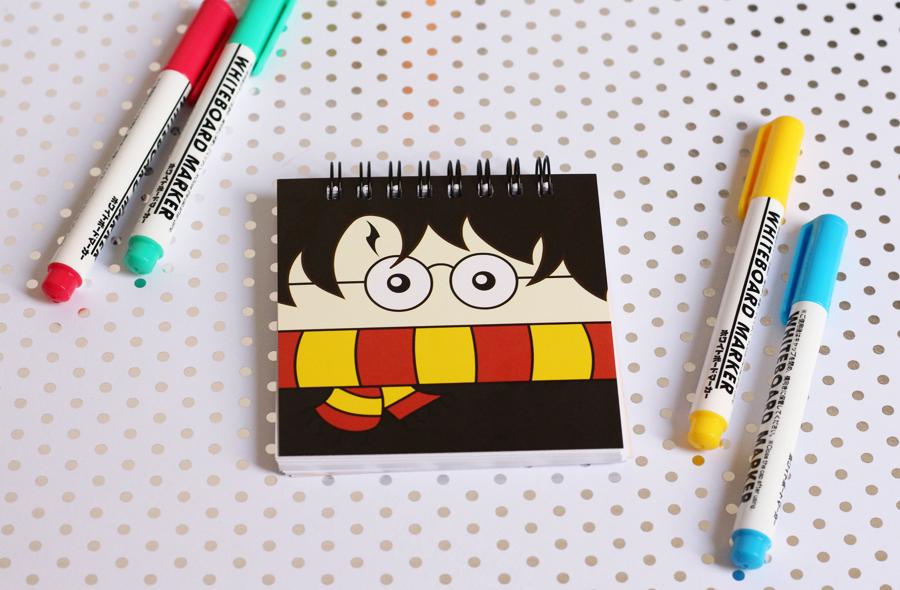 Caderneta Harry Potter Coleção