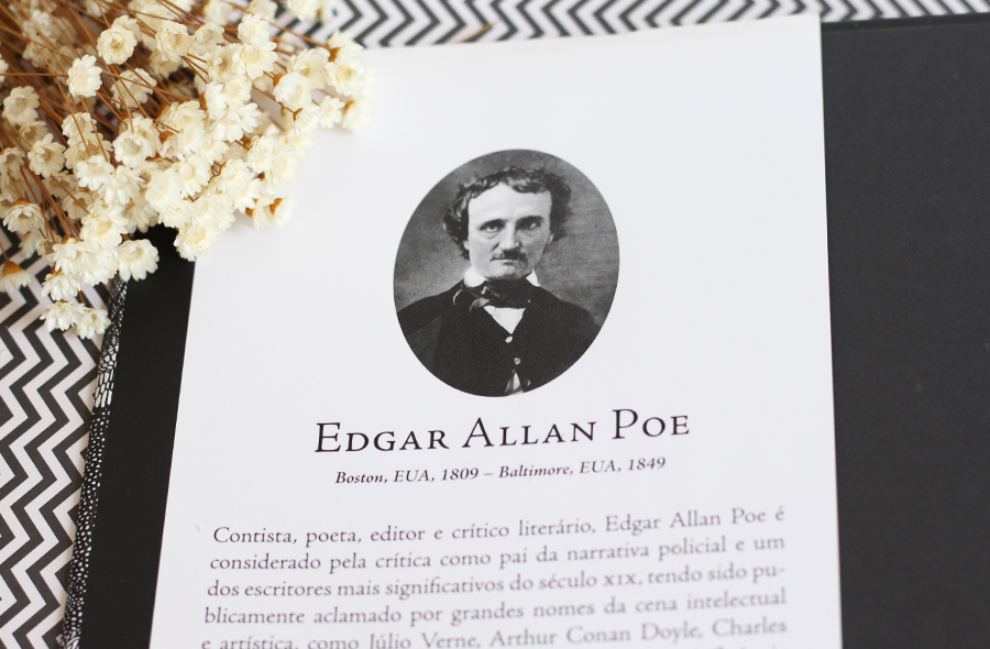 Contos Imaginação e Misterio - Edgar Allan Poe Resenha Livro