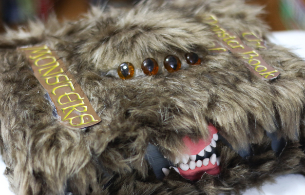 DIY Livro Monstruoso dos monstros Harry Potter Faça você mesmo