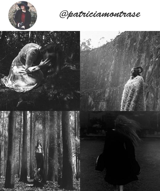 Perfil Instagram dark @patriciamontrase Especial Halloween