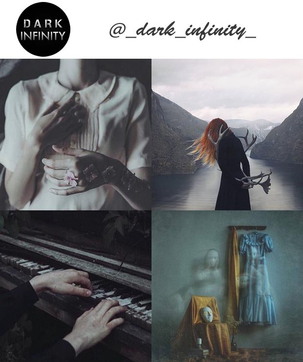 Perfil Instagram dark @_dark_infinity_ Especial Halloween