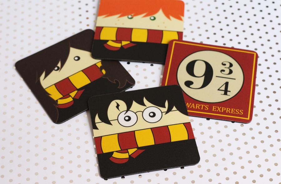 Porta Copos Harry Potter Coleção