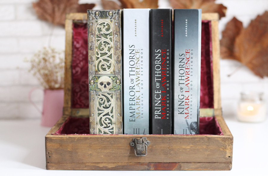 Trilogia dos Espinhos Edição Colecionador Darkside Books