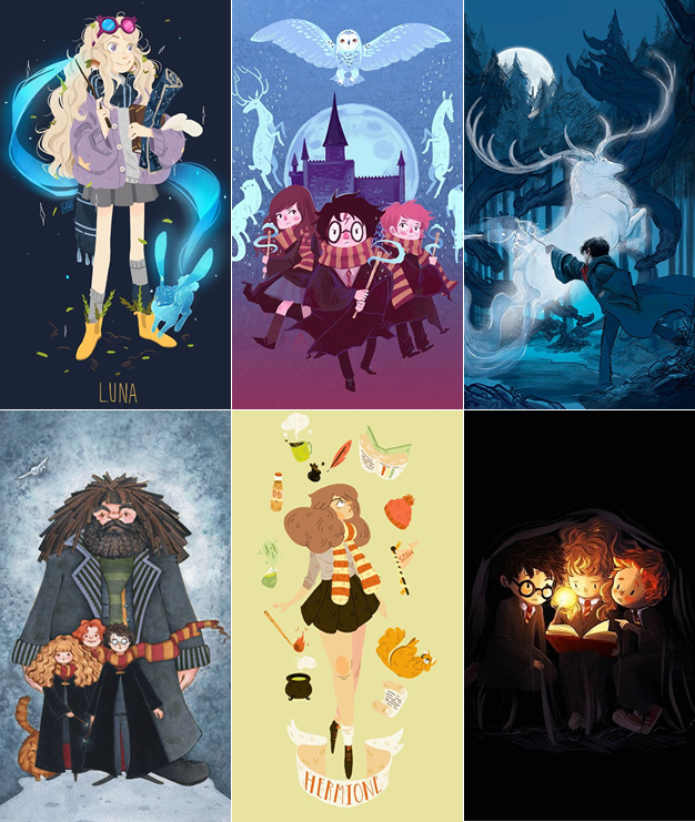 Wallpapers harry potter para celular personagens fofos kawaii