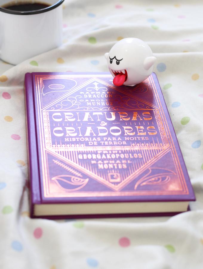 Resenha de Livro Criatura e Criadores Histórias para dia de terror