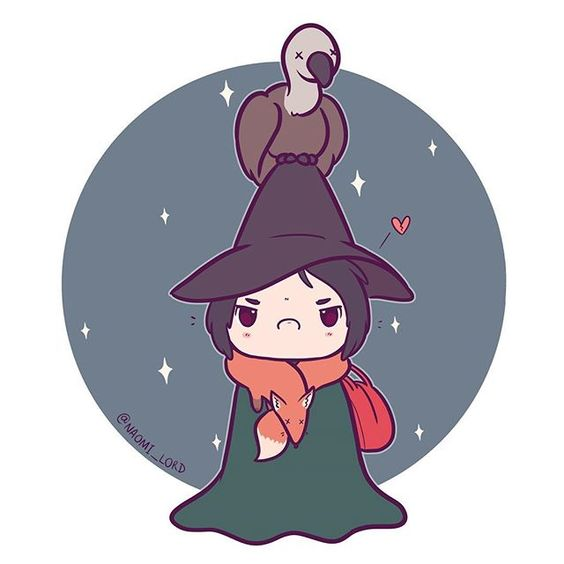 Personagens Harry Potter versão kawaii Snape