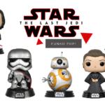 Funko Pop Star Wars VIII Os últimos Jedi