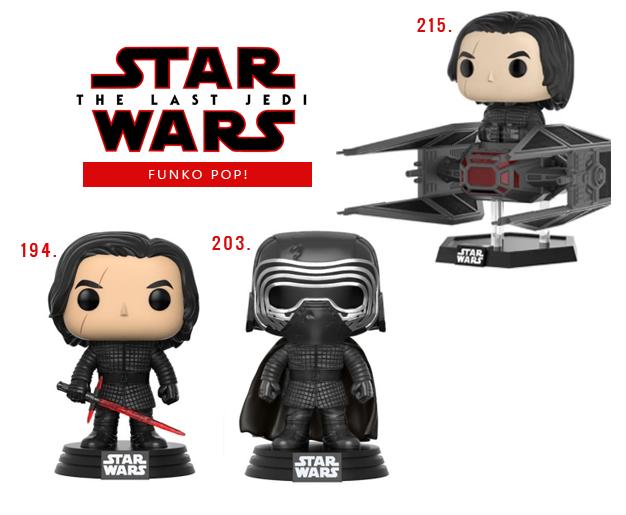 Funko Pop Star Wars VIII Os últimos Jedi Kylo Ren