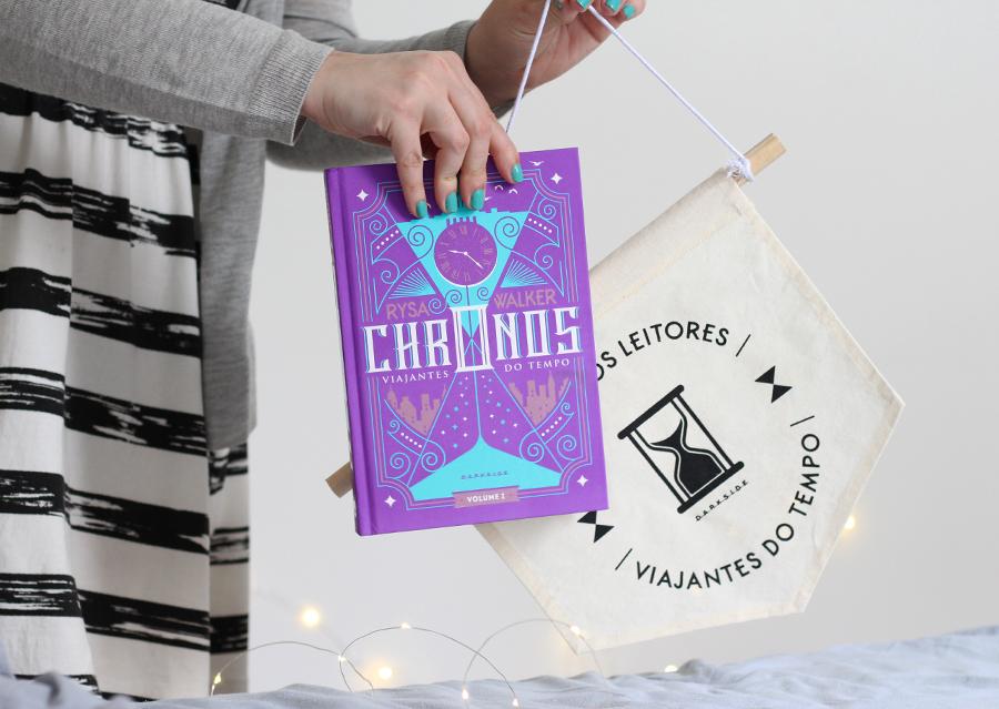 Livros recebidos darkside books Crônicas Morrighan e Chronos