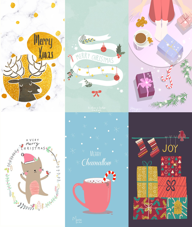 Baixar Wallpapers Celular Natal Ilustrações