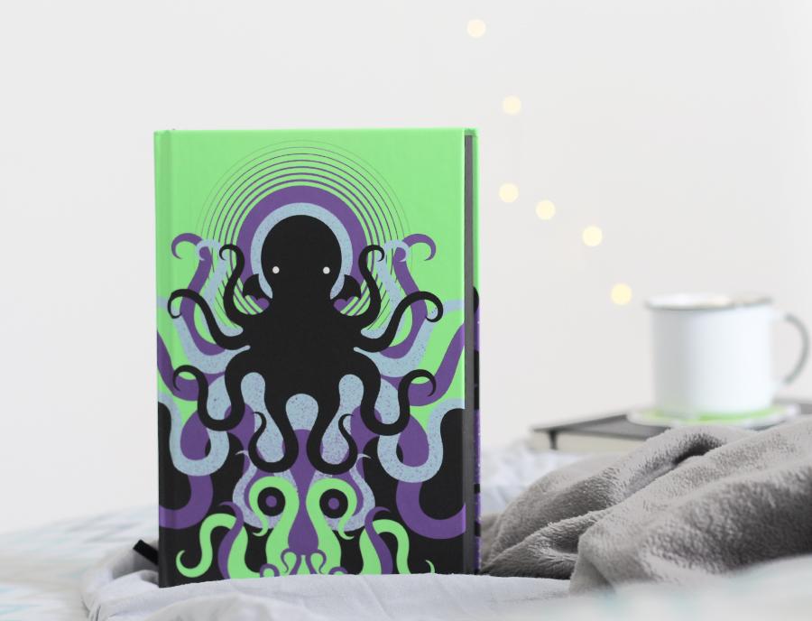 Detalhes edição H. P. Lovecraft Cosmic Edition Darkside Books
