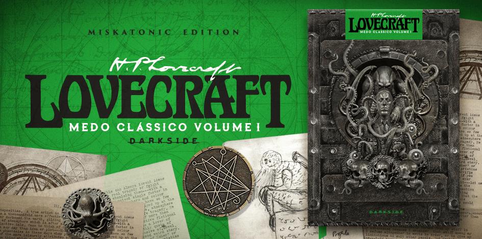 H. P. Lovecraft medo classico miskatonic edition