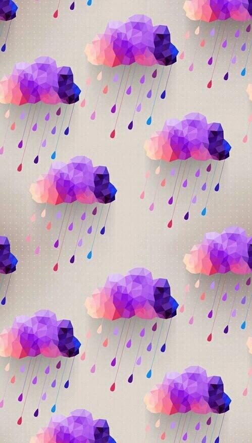 Wallpaper Estilo Tumblr Para O Seu Celular Colorindo Nuvens