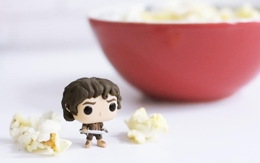 Filmes assistidos Frodo Funko