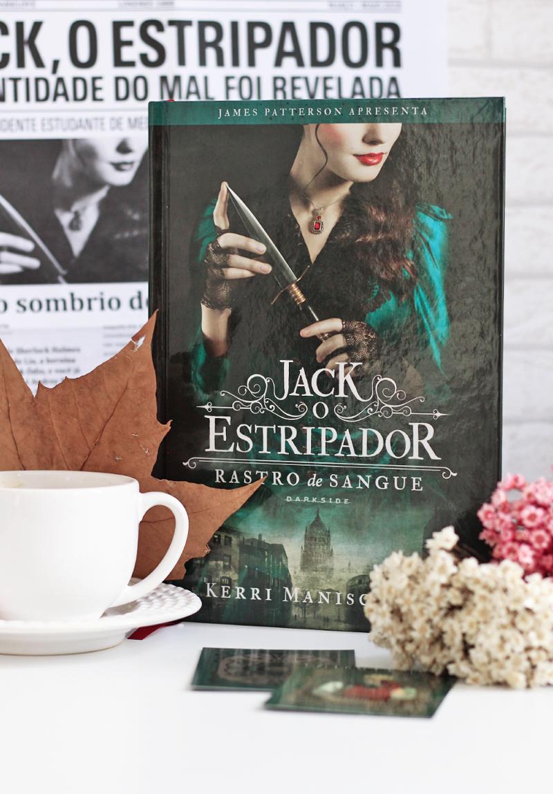Rastro de Sangue Jack, o Estripador Darkside Books