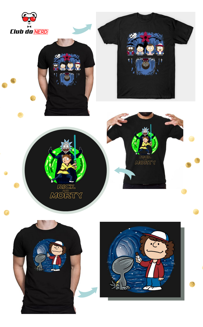 camisetas divertidas club do nerd