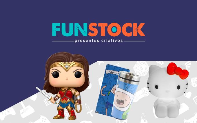 Funstock presentes criativos para geeks