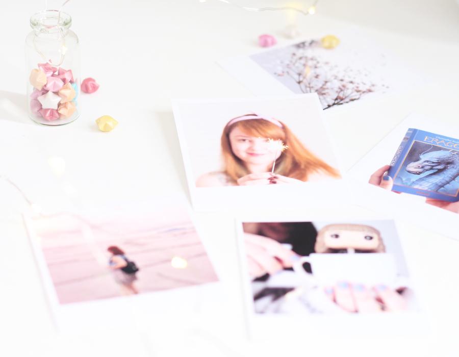 Fotografia estilo polaroid