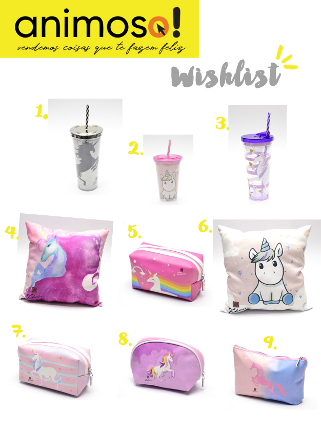 Wishlist de unicornio Animoso