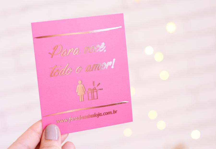 Cartão Fora da Caixa Loja