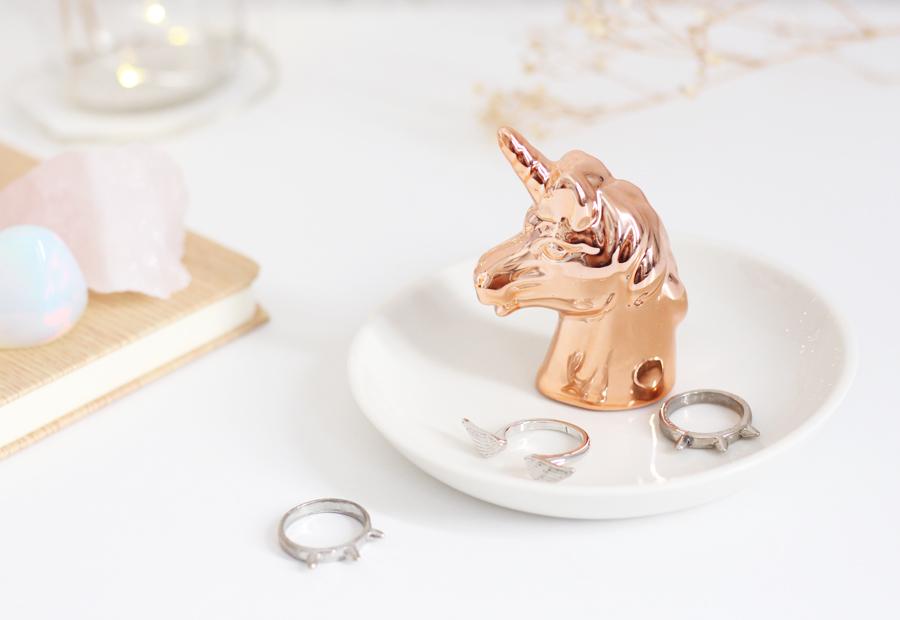 Porta Anel Unicornio Fora da Caixa Loja