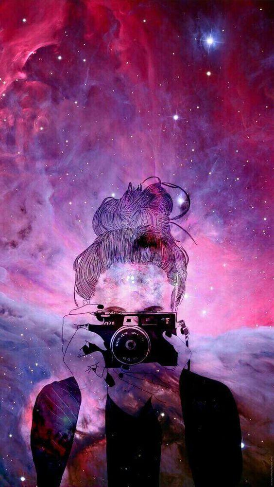 Wallpaper Estilo Tumblr Para O Seu Celular 3 Colorindo Nuvens