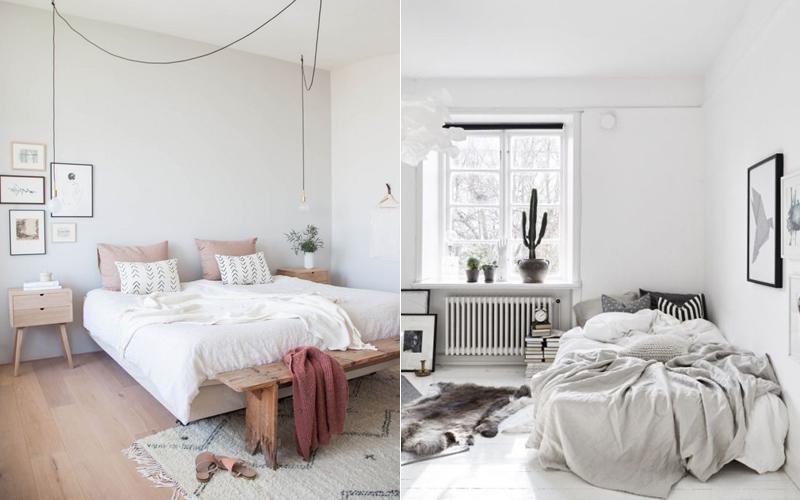 Decoração Hygge quartos