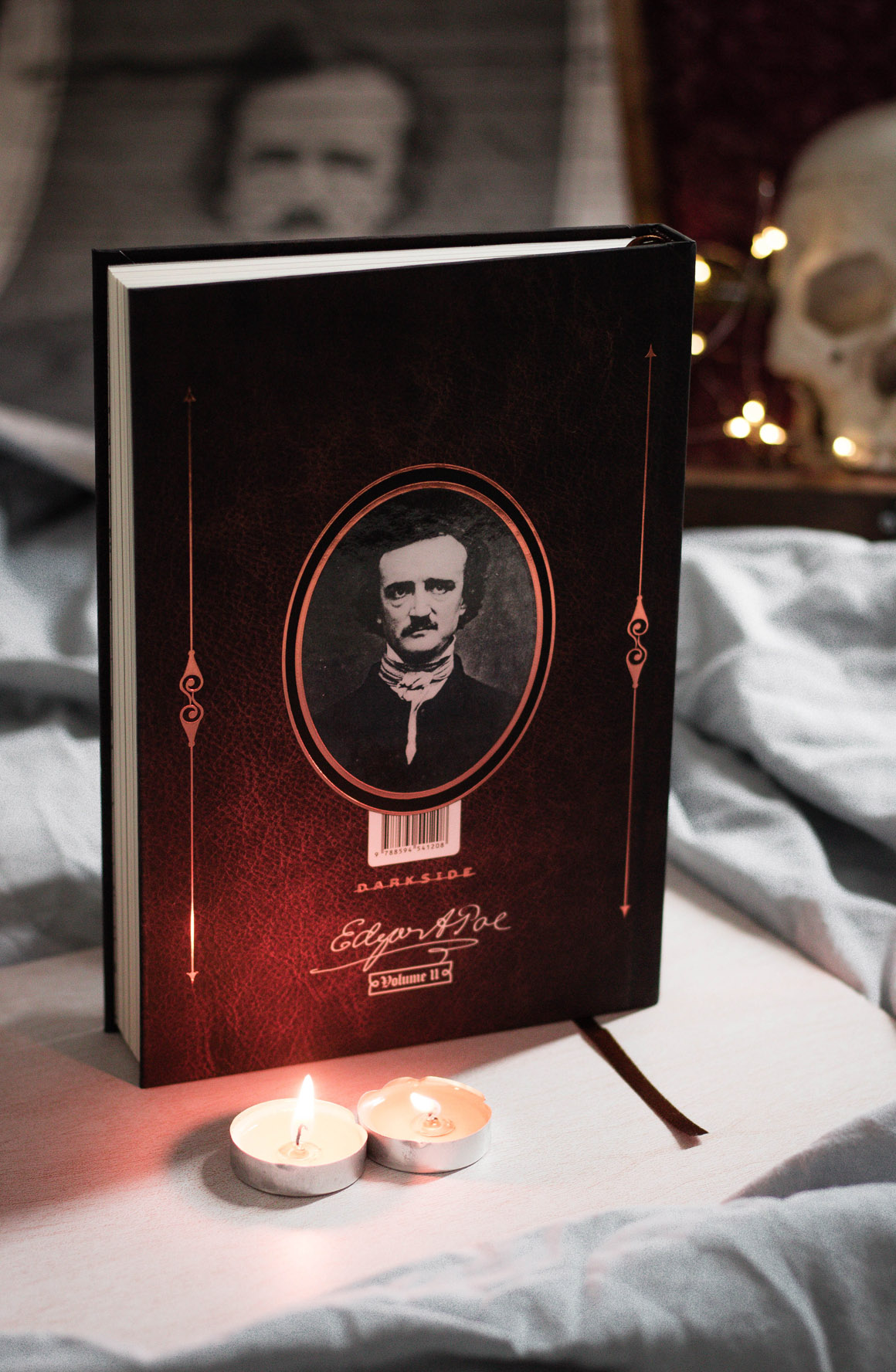 Edgar Allan Poe Darkside Books Medo Clássico Vol. 1