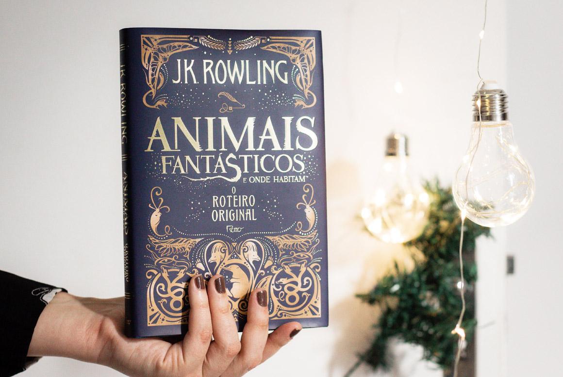 Foto Animais Fantásticos e Onde Habitam Roteiro Original | Livro