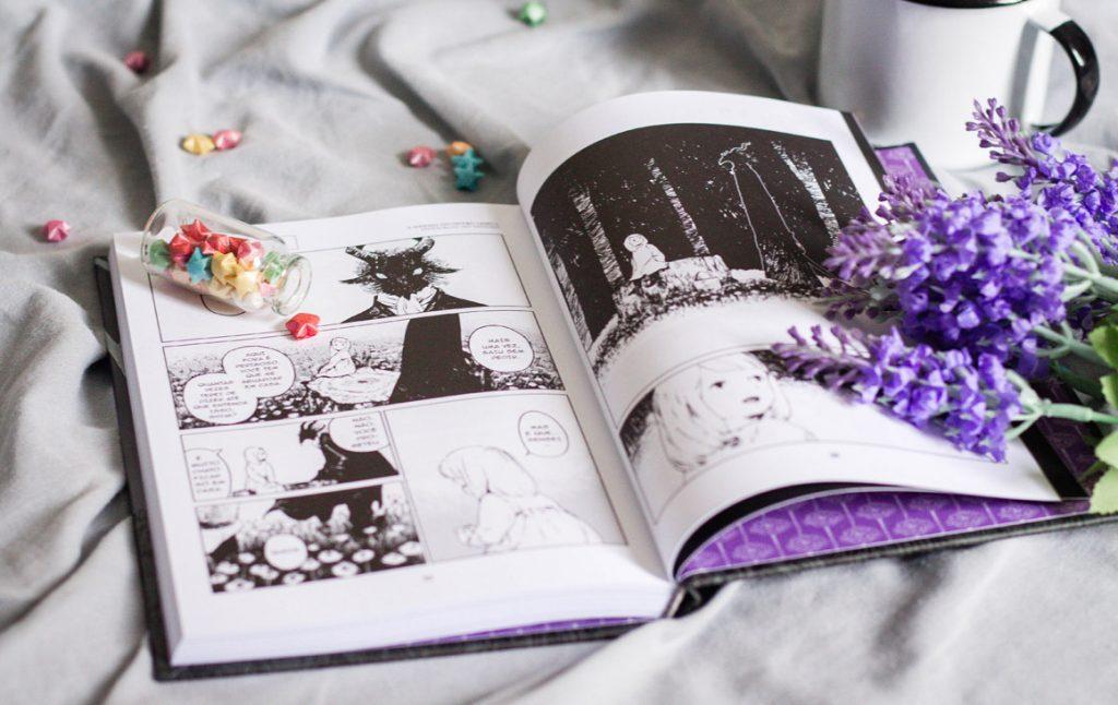 Manga A menina do outro lado darkside books