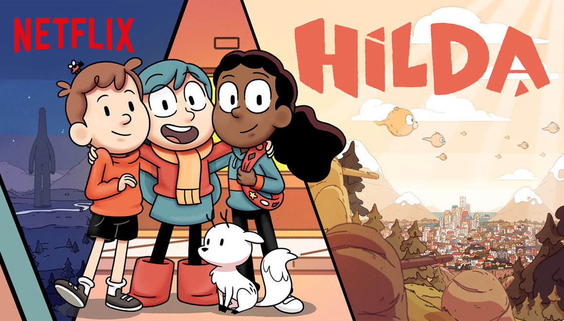 Hilda Netflix desenho animado