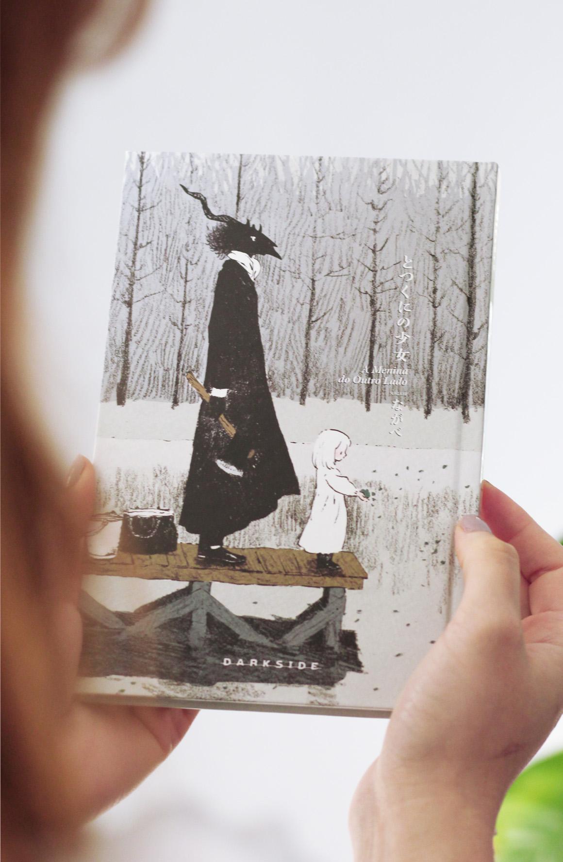 Menina Outro Lado Darkside Books Manga Colorindo Nuvens