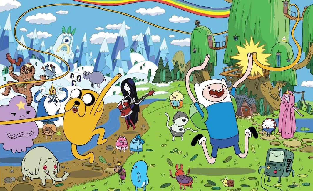 hora d eaventura Cartoon Network desenho animado