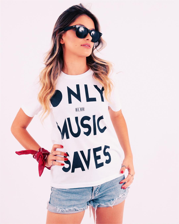 Camisetas Blur Only Music Saver