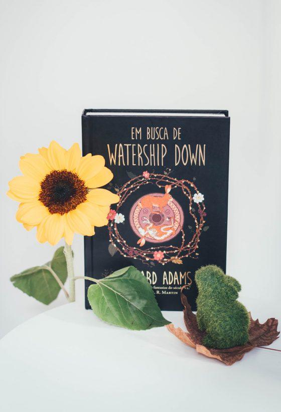 Resenha de livro Em busca de Watership Down Colorindo Nuvens