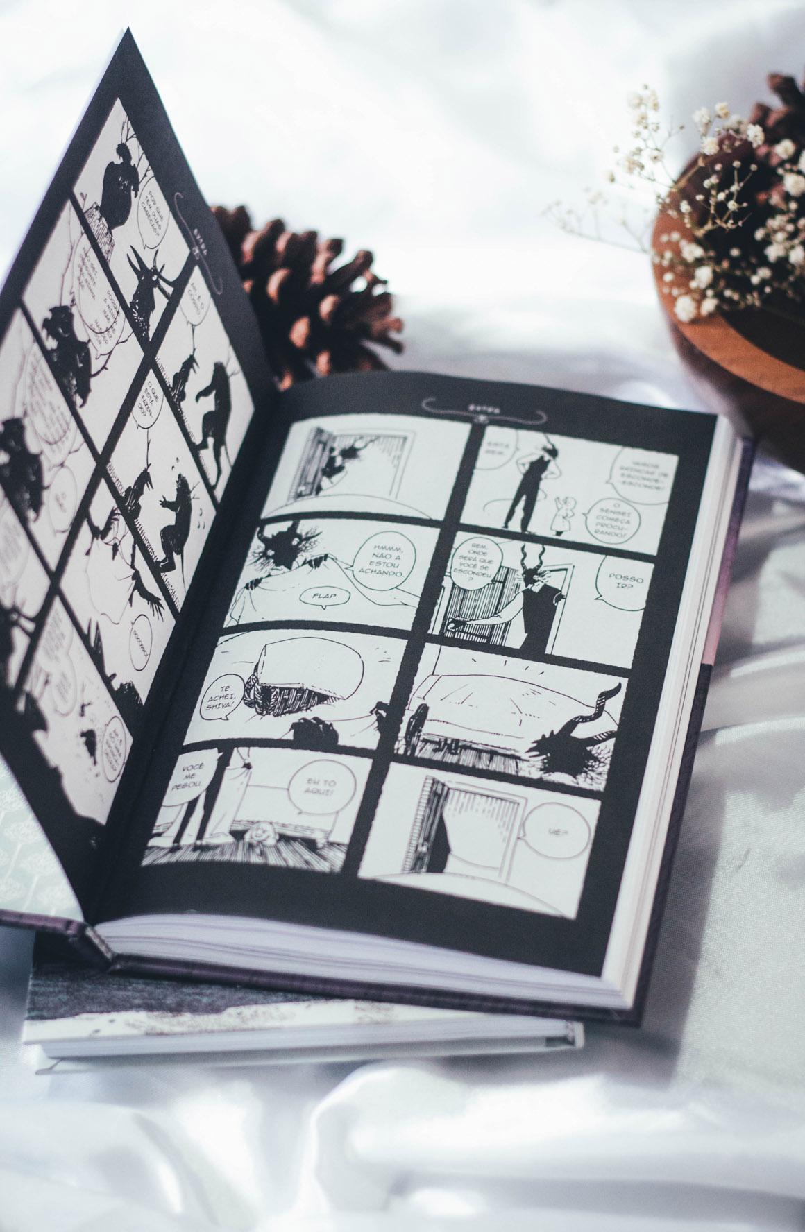 Resenha A Menina do Outro lado Manga Darkside Books