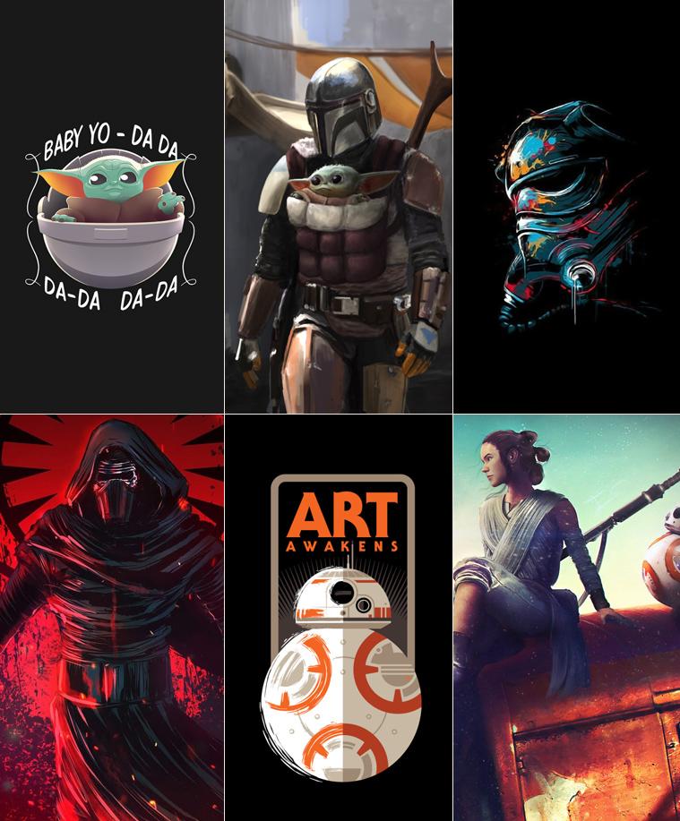 Wallpaper-Star Wars 4k baby yoda