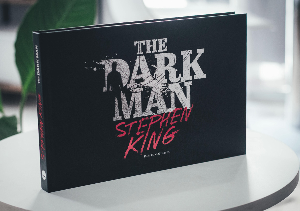 The Dark Man Stephen King Darkside Bookso