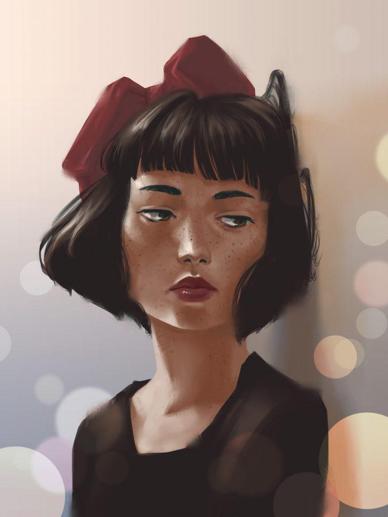 Arte Fanart Kiki Ghibli Estudios por Risamari