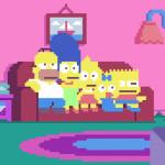 sSimpsons-PixelArte-ColorindoNuvens