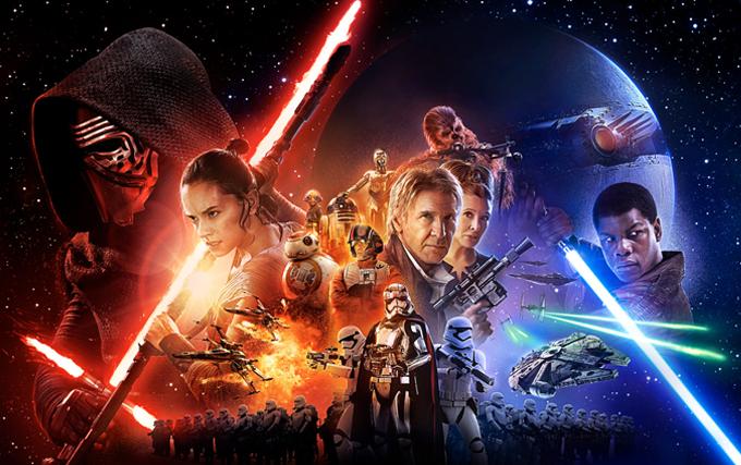 Star Wars - O Despertar da Força - Colorindo Nuvens
