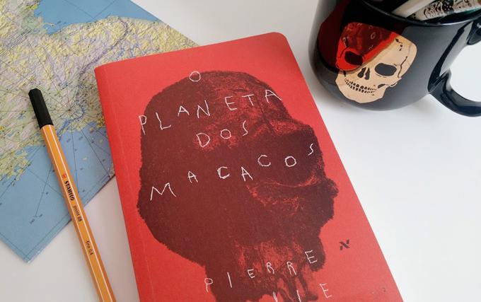 Livro Planeta Macacos - Colorindo Nuvens
