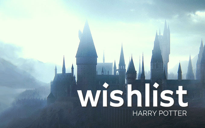wishlist harry potter colorindo nuvens