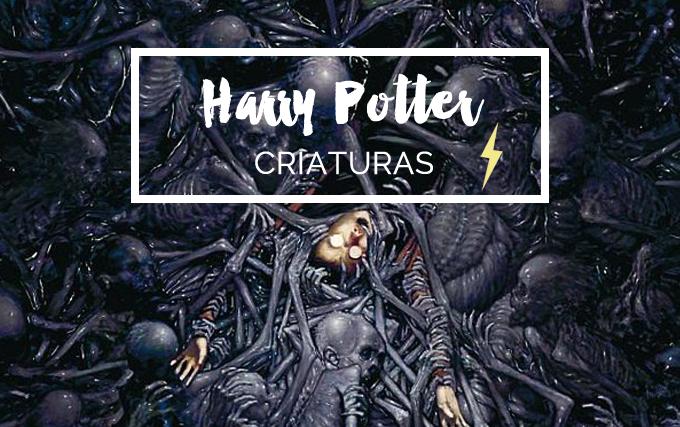 Animais Fantásticos Harry Potter Testrálios
