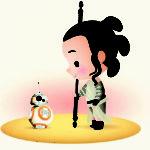 Rey Personagens Star Wars by jerrod maruyama