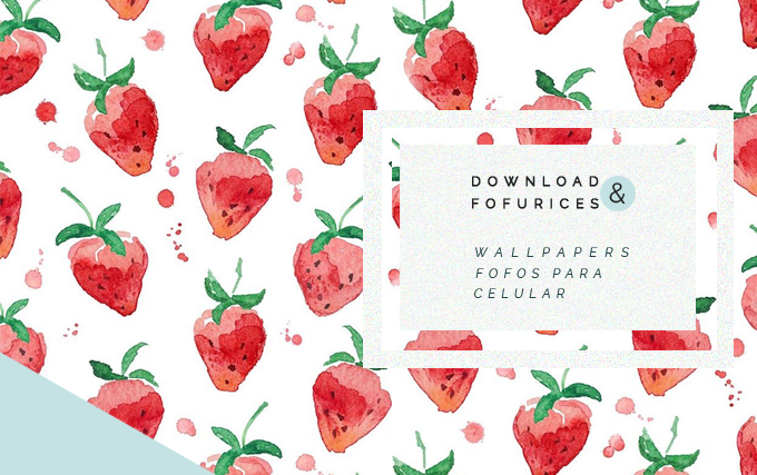 wallpapers fofos para celular Papel de parede