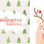Baixar Wallpapers Celular Natal Colorindo Nuvens